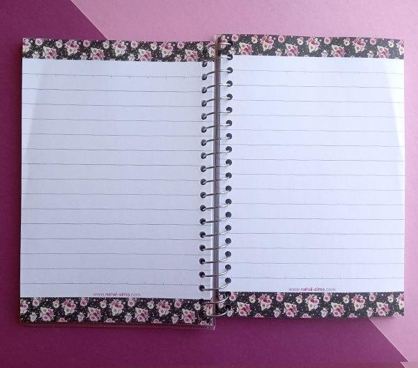 دفتر یادداشت رنگی رنگی