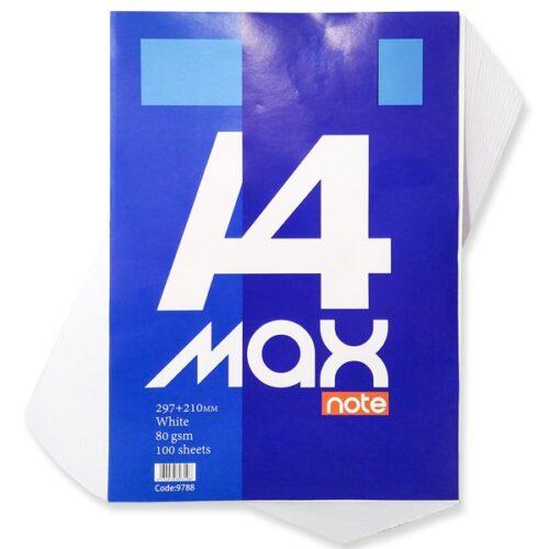 white paper A4